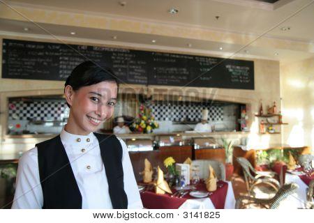 Beautiful Restaurant Staff