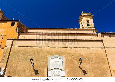 Church In Rio Nell'elba, Tuscany, Italy