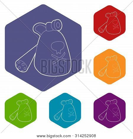 Insecticide Device Icon. Outline Illustration Of Insecticide Device Vector Icon For Web