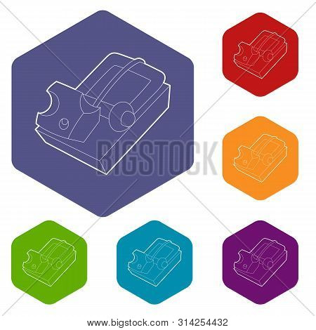 Mousetrap Icon. Outline Illustration Of Mousetrap Vector Icon For Web