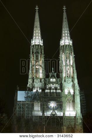 Votivkirche Church In Vienna