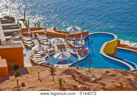 Swimming Pool At Los Cabos