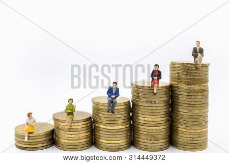 Succession, Finance, Business, Money, Security And Saving Concept. Close Up Of Group Of Businessman
