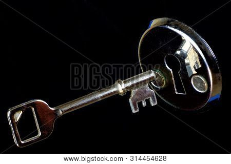 The Key Is A Tool For Opening Locks, For Solving, Understanding And Mastering The Mystery, The Ciphe