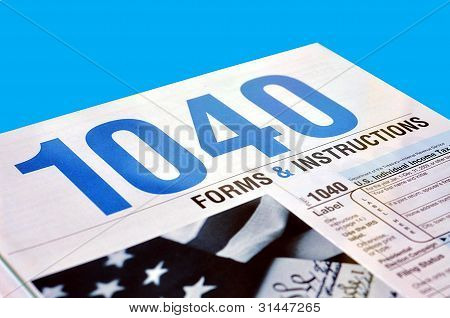 Form 1040 U.S. Income Tax Return Instructions Book