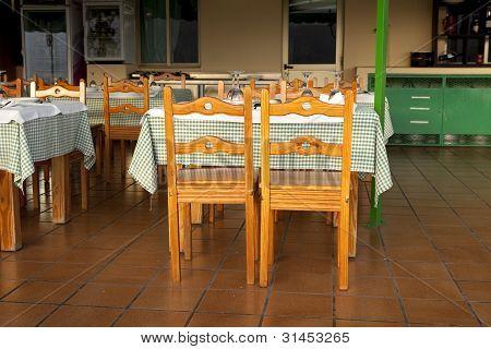 Outdoor Restaurant In Spain