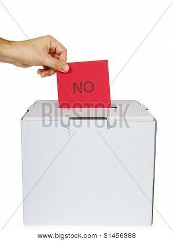 Voting - no