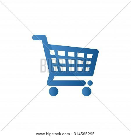 Shopping Cart Icon. Shopping Cart Vector, Trolley Logo, Shopping Cart Logo, Web Icons, Trolley Icon,