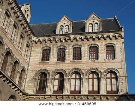 Episcopal Palace, Angers, France.
