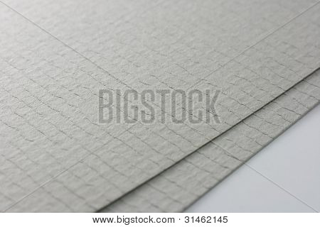 Two Grey Paper Sheets