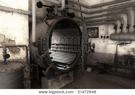 Industrial Equipment At Terezin