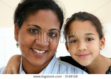 Woman And Daughter