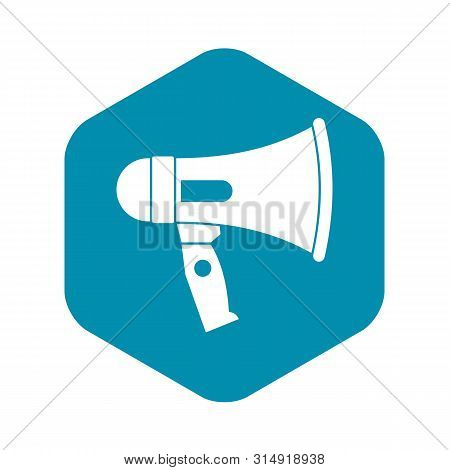 Mouthpiece Icon. Simple Illustration Of Mouthpiece Vector Icon For Web