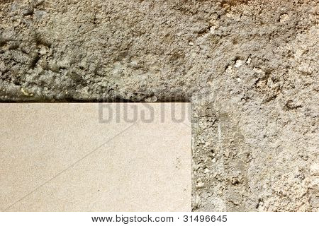 Floor Tile And Concrete