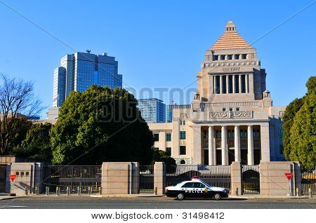 The National Diet Building, Japan