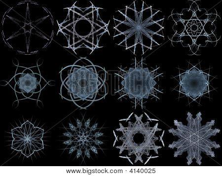 Snowflake Set 1