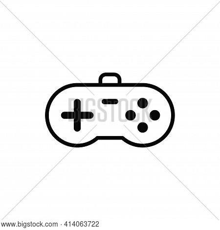 Joystick Icon Isolated On White Background. Joystick Icon In Trendy Design Style. Joystick Vector Ic