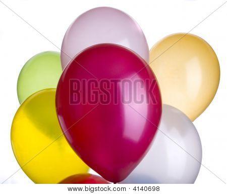 Ballons Vibrant Closeup
