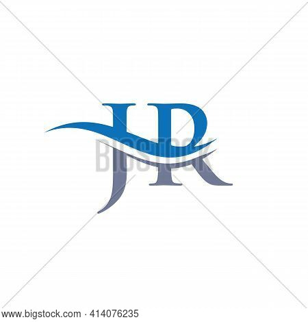 Jr Linked Logo For Business And Company Identity. Creative Letter Jr Logo Vector