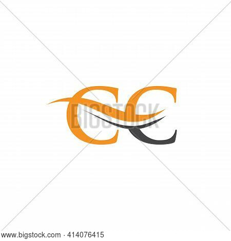 Cc Linked Logo For Business And Company Identity. Creative Letter Cc Logo Vector