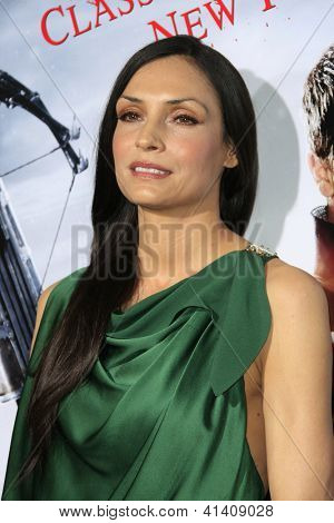 LOS ANGELES - JAN 23: Famke Janssen at the LA premiere of Paramount Pictures' 'Hansel And Gretel: Witch Hunters' at Grauman's Chinese Theater on January 24, 2013 in Los Angeles, California