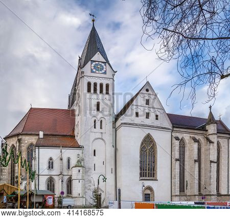 Eichstatt Cathedral, Properly Known As The Cathedral Church Of The Blessed Virgin Mary, St. Willibal