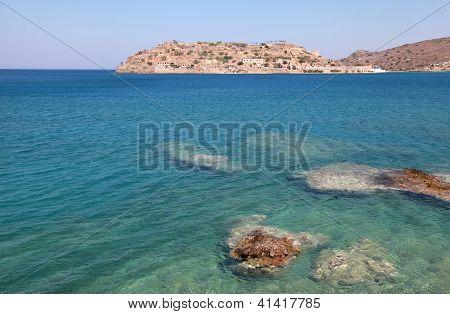 Spinalonga Island, A Venetian Fortress And Leper Colony(Crete, Greece)