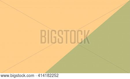 Brown And Soft Green Color Pastel Soft For Banner Background, Simple Yellow Brown Pastel Color In To