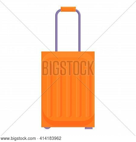 Trip Baggage Icon. Cartoon Of Trip Baggage Vector Icon For Web Design Isolated On White Background