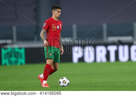 Torino, 24th March 2021 . Joao Cancelo Of Portugal  During The Fifa World Cup 2022 Qualifiers Match