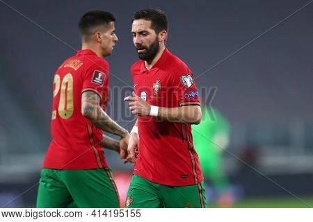 Torino, 24th March 2021 . Joao Moutinho Of Portugal  During The Fifa World Cup 2022 Qualifiers Match