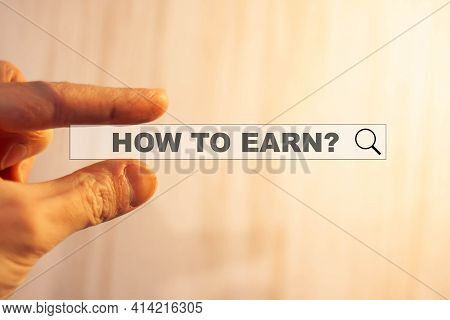 How To Earn A Person Searches For Information Through A Search On The Internet