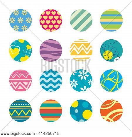 Key Chain With Easter Theme Design Template.