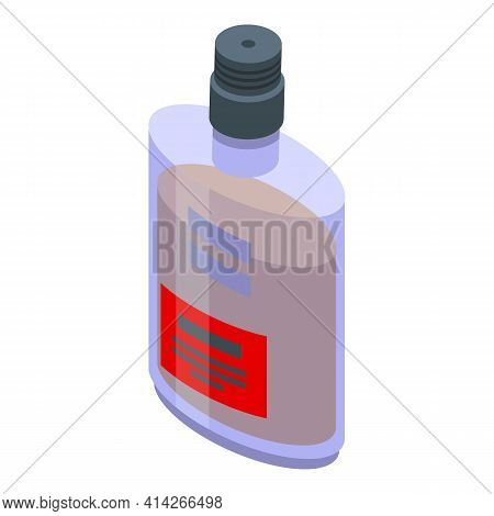 Pub Bourbon Icon. Isometric Of Pub Bourbon Vector Icon For Web Design Isolated On White Background