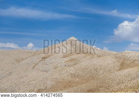 Panoramic View Onto Mount Nemrut, Known For Ancient Burial Complex Of King Antiochus & Large Stone H