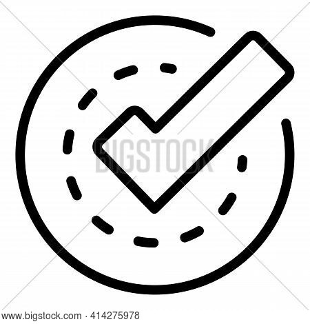 Ssl Certified Icon. Outline Ssl Certified Vector Icon For Web Design Isolated On White Background