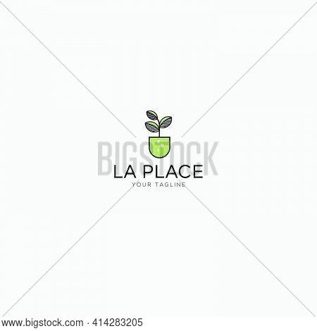 Growth Plant Nature Logo Design La Place