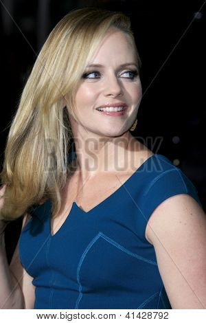 LOS ANGELES - JAN 24:  Marley Shelton arrives at the the 'Hansel And Gretel: Witch Hunters' premiere at the Chinese Theat theer on January 24, 2013 in Los Angeles, CA