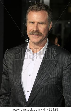 LOS ANGELES - JAN 24:  Will Farrell arrives at the the 'Hansel And Gretel: Witch Hunters' premiere at the Chinese Theat theer on January 24, 2013 in Los Angeles, CA