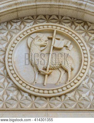 Symbolic Shield, Jerusalem, Israel