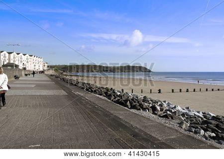 Youghal Strand Beach Promenade