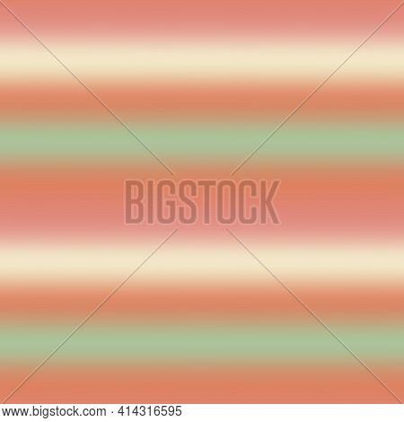 Blurry Ombre Blend Gradient Stripe Background. Variegated Pastel Horizontal Line Melange Seamless Pa