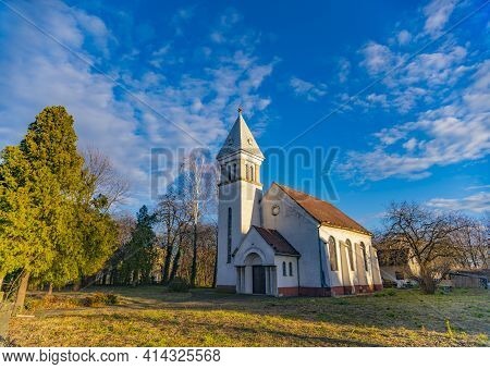 View At Reformed (calvinist) Church In Novi Sad, Serbia