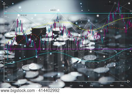 Stock Market Graphs And Chart Analysis Business Analysis Show Profit With Business Chart The World's