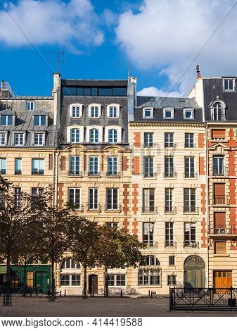View To Historical Buildings In Paris, France.