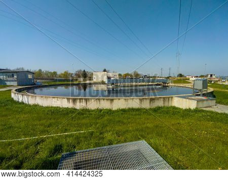 Sewage Treatment Is The Process Of Removing Contaminants From Municipal Wastewater, Containing Mainl