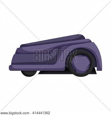 Mower Vector Icon.cartoon Vector Icon Isolated On White Background Mower.