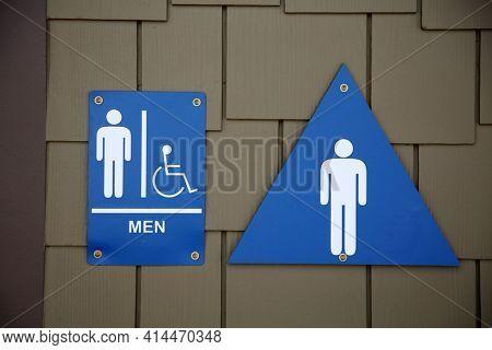 Public Bathroom Sign and Symbols. Toilet signs, Restroom icons. Bathroom. Men bathroom sign. Men's room