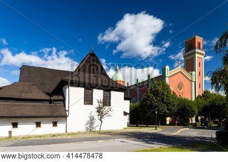 Church of the Holy Trinity, UNESCO site, Kezmarok, Slovakia