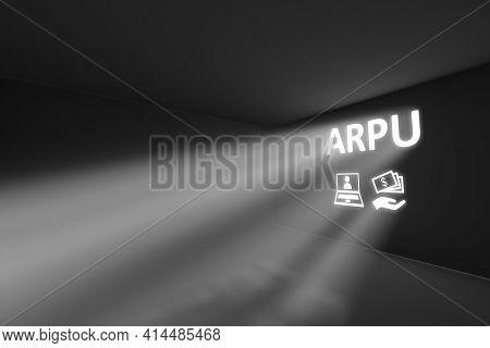 Arpu Rays Volume Light Concept 3d Illustration